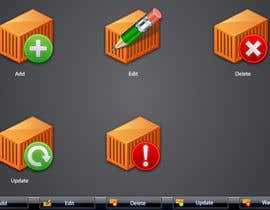 #16 untuk Icon or Button Design for Logistic platform oleh raikulung