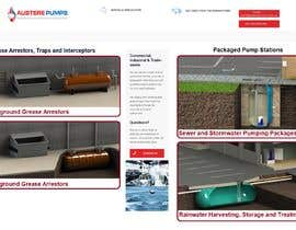 chiku789 tarafından Build a landing Page with Products landing pages for WP for www.austerepumps.com.au için no 1