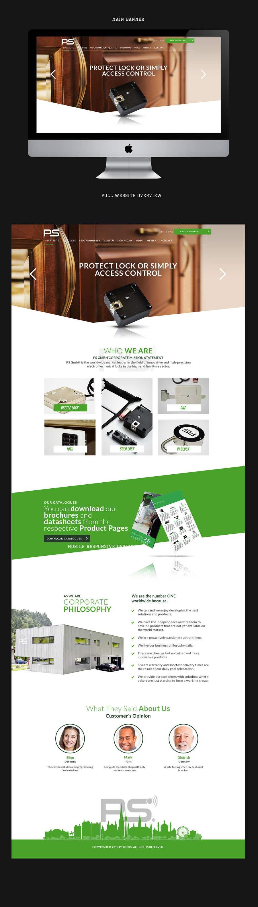 Конкурсная заявка №125 для Design a new website and catalogue - Just a general design