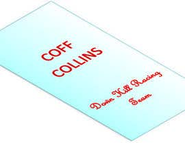 nº 27 pour Design a logo for Coff Collins down hill racing team par asifircu13