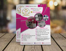 #81 for Create interior/exterior Painter Flyer by AfiEmon