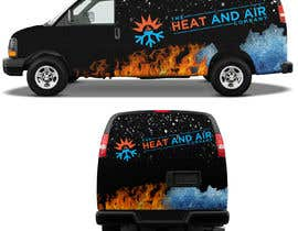 #23 for Cargo van wrap by aabeerkashif