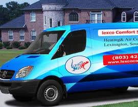 nº 18 pour Van re-design for main website page and van wrap. par zamanflr88