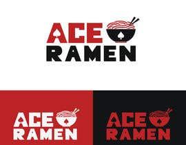 "zahidhasan201422 tarafından Create a new Japanese Ramen restaurant logo called ""ACE RAMEN"" için no 336"