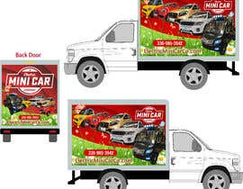 #32 for BOX TRUCK WRAP DESIGN by Win112370