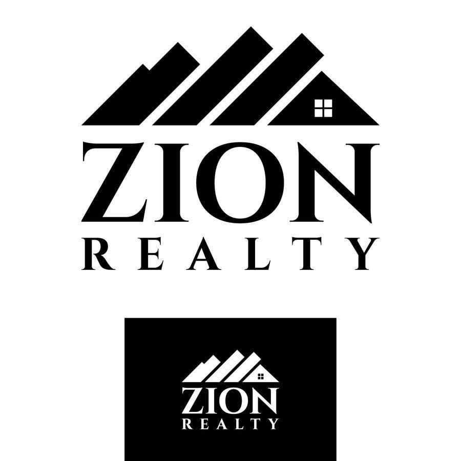 """Penyertaan Peraduan #272 untuk Logo for """"Zion Realty"""""""