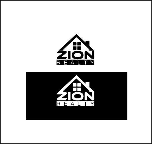 """Penyertaan Peraduan #591 untuk Logo for """"Zion Realty"""""""