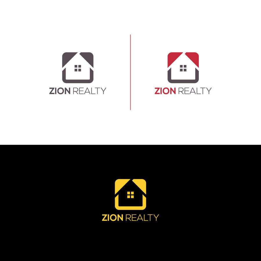 """Penyertaan Peraduan #432 untuk Logo for """"Zion Realty"""""""