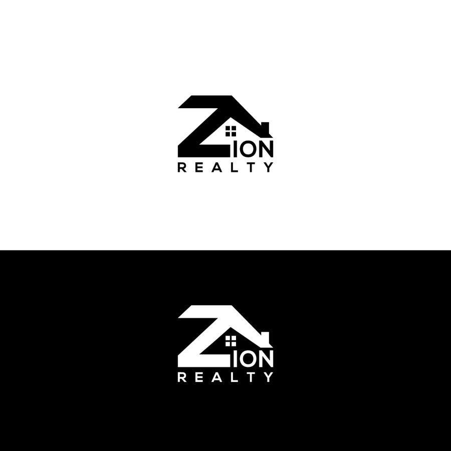 """Penyertaan Peraduan #437 untuk Logo for """"Zion Realty"""""""