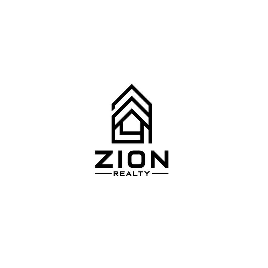 """Penyertaan Peraduan #446 untuk Logo for """"Zion Realty"""""""