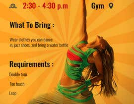 #23 cho Dance team tryout flyer bởi saayyemahmed