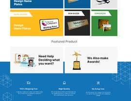 nº 3 pour Website Home Page Design (Photoshop) par kubulu