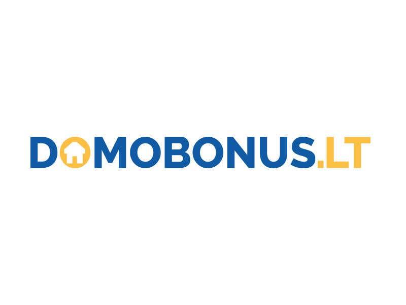 Contest Entry #123 for Domobonus.lt logo