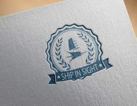 "#24 untuk I need a logo designed with the text ""ship in sight"". The logo must have to do with the meaning of the text: ship in sight   Also we focus on selling products. oleh kostasnin"