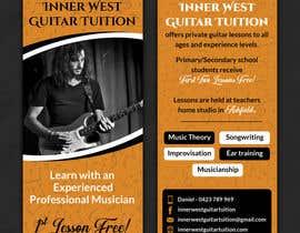 #19 cho Design a flyer for guitar tuition bởi SarahDar