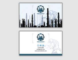 #71 для Industrial Business Card Design от durjoykumar0904