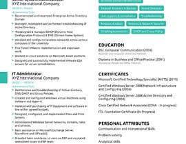#25 para Redesign Resume / CV (Content Ready) - Only Design Template Needed por sheraz27