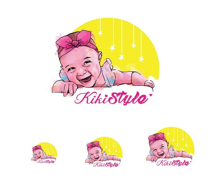 Contest Entry #47 for brand logo design for a baby