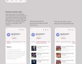 #15 for Design de l'application mobile événementiels af bokaami