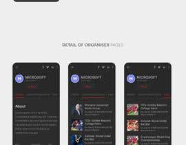 #17 for Design de l'application mobile événementiels af bokaami