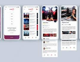 #7 for Design de l'application mobile événementiels af blackdahlia24