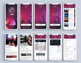 #9 for Design de l'application mobile événementiels af blackdahlia24