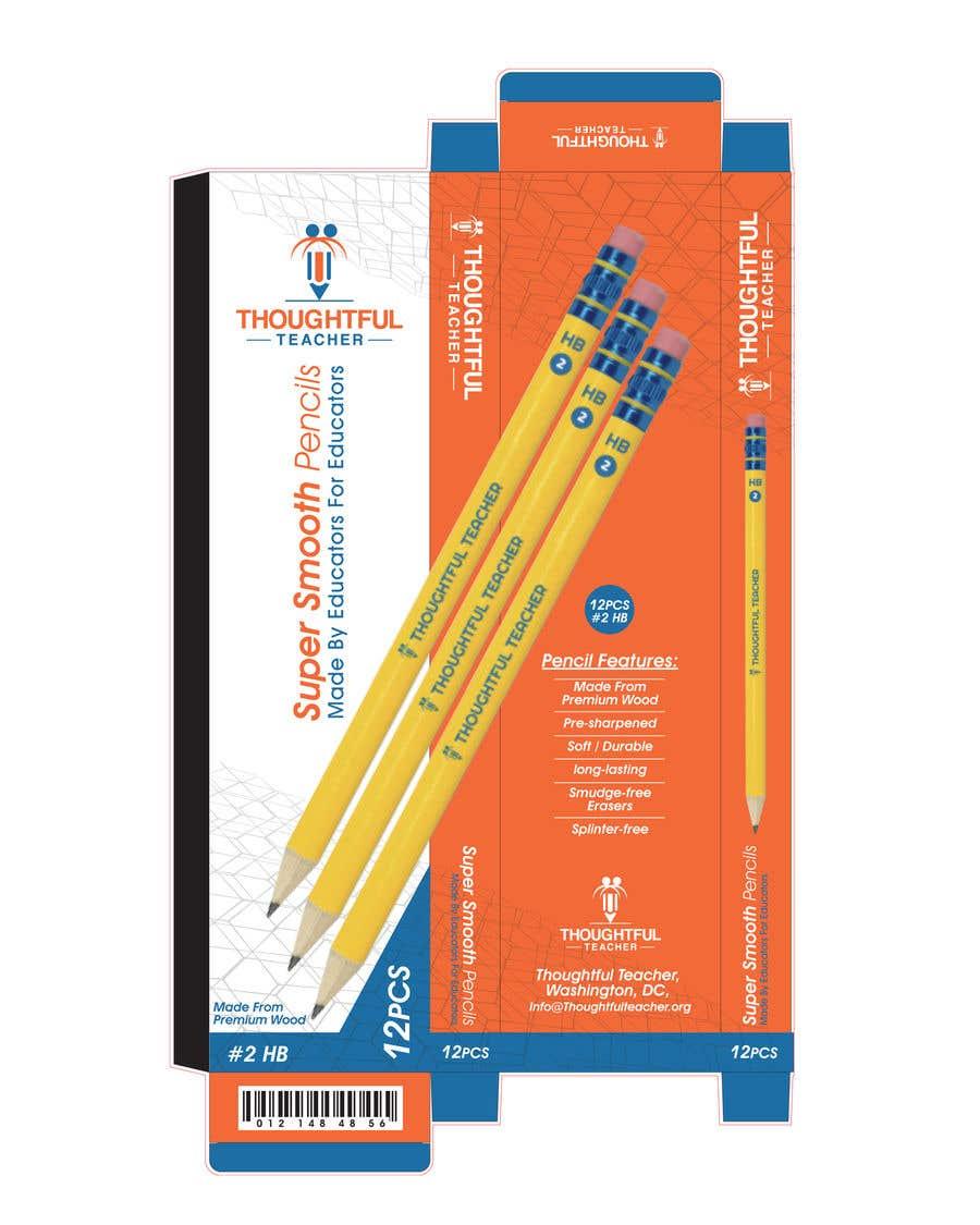 Bài tham dự cuộc thi #23 cho Package Design For A Dozen Pencils