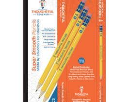 nº 25 pour Package Design For A Dozen Pencils par Mazeduljoni