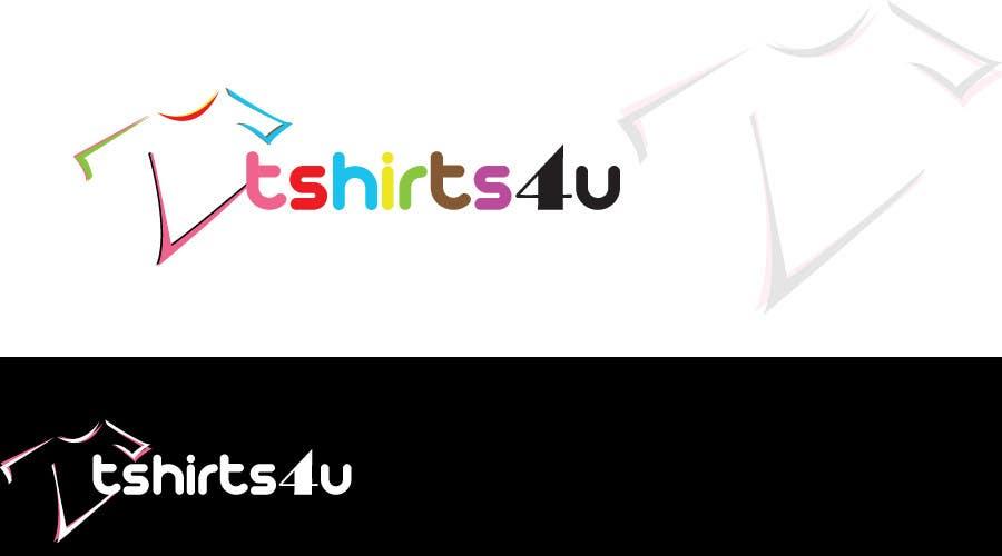 Kilpailutyö #                                        7                                      kilpailussa                                         Logo Design for new online tshirt shop - tshirts4u