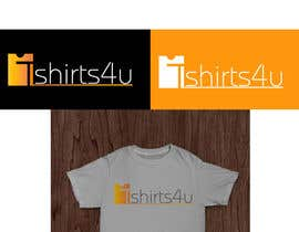#25 untuk Logo Design for new online tshirt shop - tshirts4u oleh graphics7