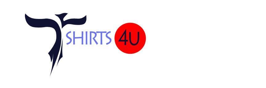 Kilpailutyö #                                        4                                      kilpailussa                                         Logo Design for new online tshirt shop - tshirts4u