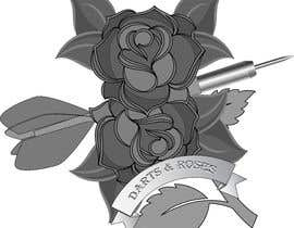 #11 cho Darts and Roses Tattoo Illustration bởi provatihasan7