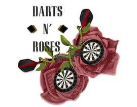 #4 cho Darts and Roses Tattoo Illustration bởi jillmartinez