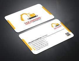 #206 for Lay out a simple business card by SLBNRLITON
