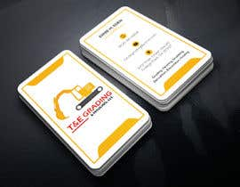 #207 for Lay out a simple business card by SLBNRLITON