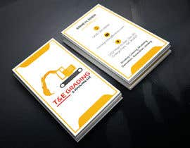 #208 for Lay out a simple business card by SLBNRLITON