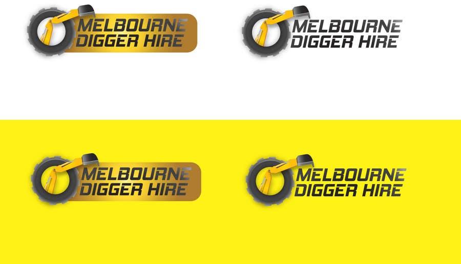 Penyertaan Peraduan #                                        6                                      untuk                                         Logo Design for an Excavator hire company