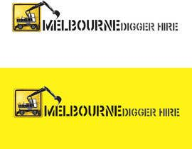 #7 para Logo Design for an Excavator hire company por GeorgeOrf