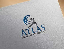 #179 для Logo design. Company name is Atlas Wealth Advisory. Financial planning business targeted towards individual clients seeking to build wealth. Mix with of pre and post retirees with an image of financial strength and security. от fatemaakther423