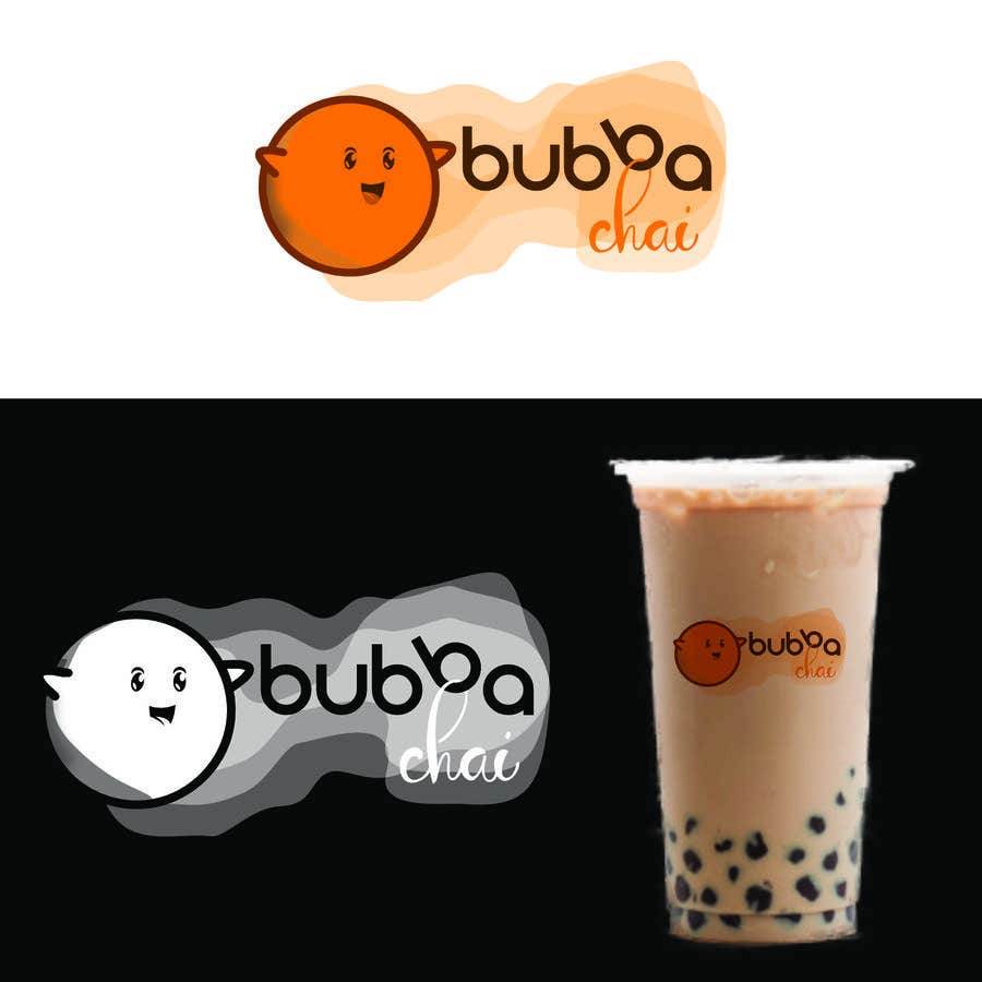 Penyertaan Peraduan #36 untuk Build a brand identity for a Bubble Tea shop