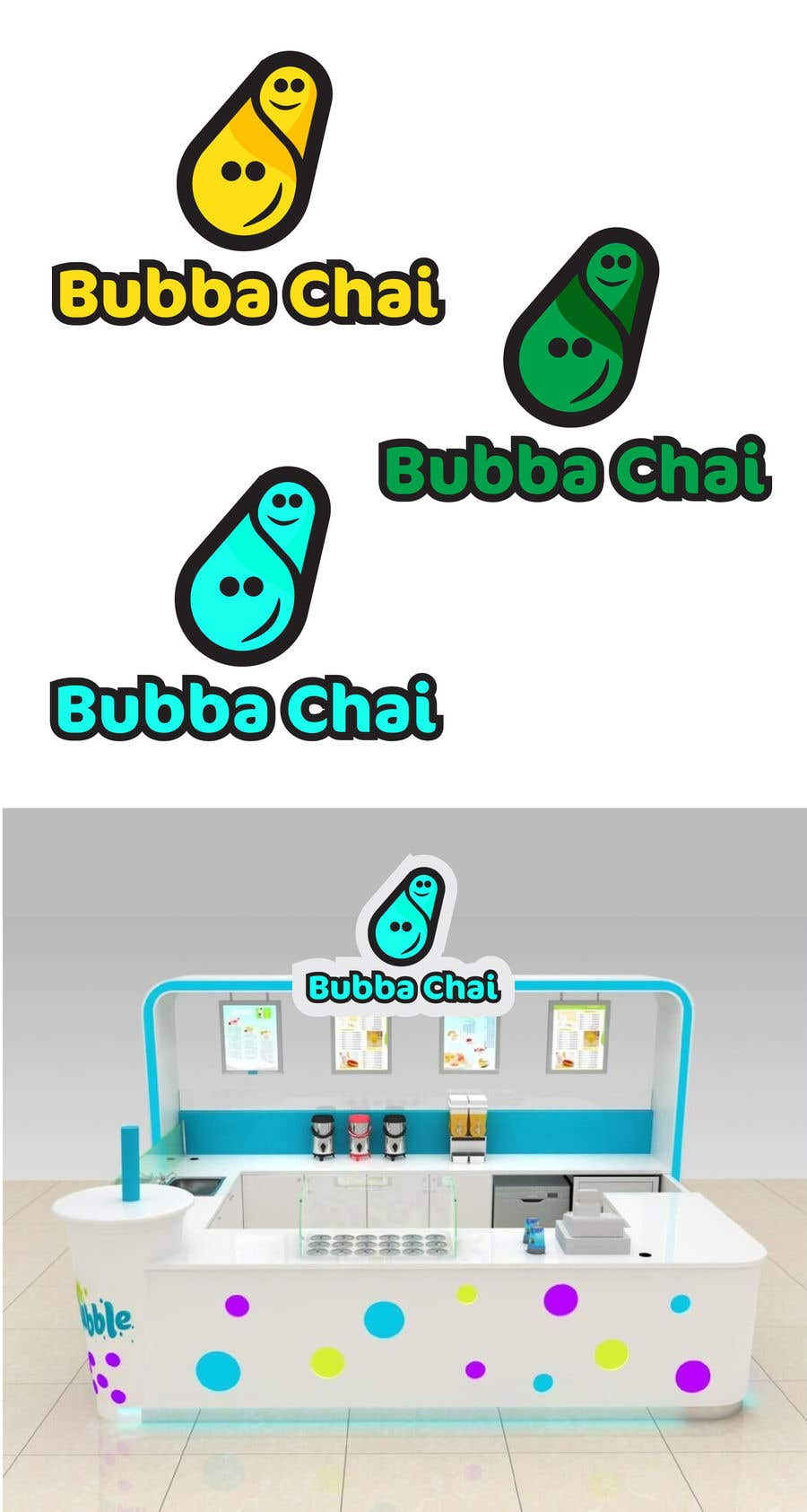 Contest Entry #214 for Build a brand identity for a Bubble Tea shop
