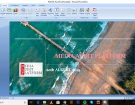 #20 for Powerpoint template build af pchaudhary0802