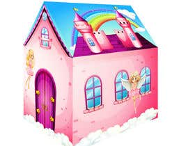 #35 untuk Graphic Design for Kids Tent Houses oleh sugar19