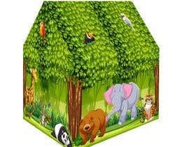 nº 44 pour Graphic Design for Kids Tent Houses par sugar19