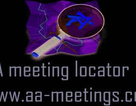 #6 for LOGO Design forAA Meeting Locator af saineefprasla