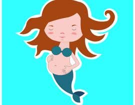#19 for Pregnant Mermaid Pin Design by furkanstar