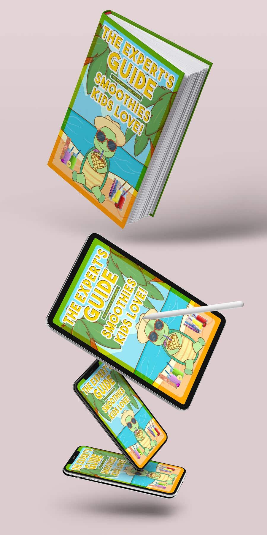 Kilpailutyö #43 kilpailussa Created us a Smoothie Ebook Cover