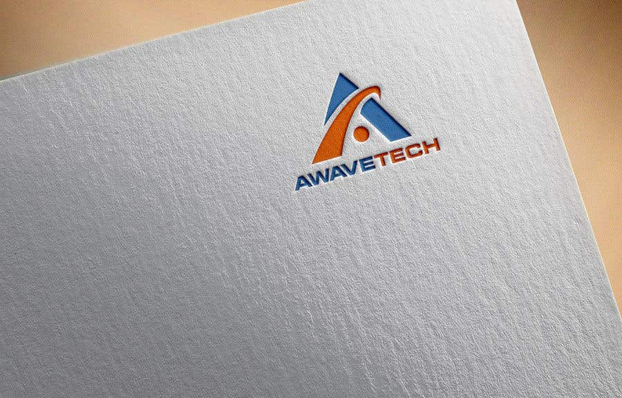 """Kilpailutyö #132 kilpailussa Logo designed for a company; name is Awavetech pronounced """"a-wave-tech"""". Logo should include the letter """"a"""" and a wave 1 color. Looking for something bold. The copyright and files are apart of the agreement. Files need to be sent in ai, eps, png, pdf."""