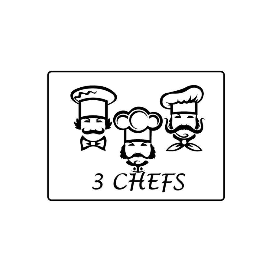 Contest Entry #9 for Logo Design 3 Chefs