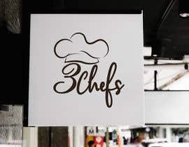 #38 for Logo Design 3 Chefs by bakibillah3937